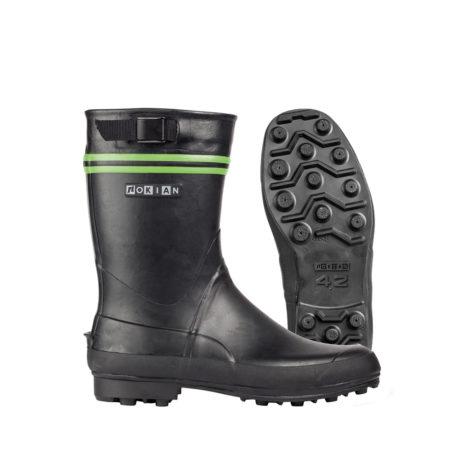 Nokian Footwear Finntrim Black Edition - Black/green