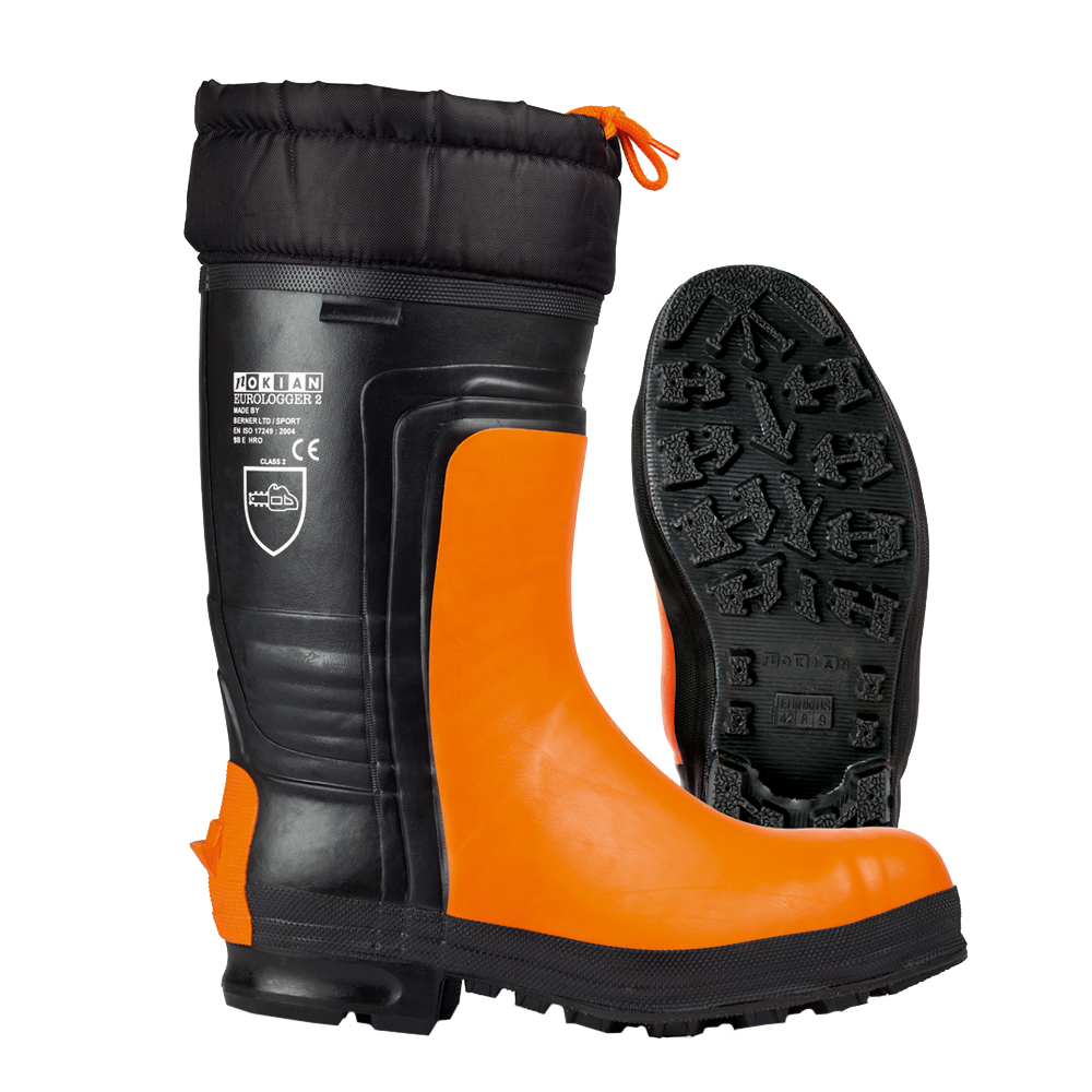 Nokian Footwear Eurologger 2 - Black/orange