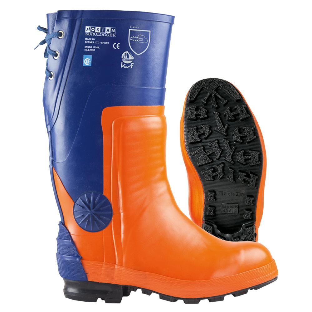 Nokian Footwear Eurologger 3 - Orange/blue