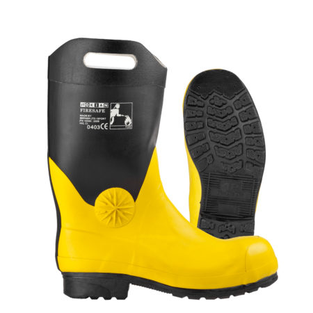 Nokian Footwear Firesafe - Black/yellow
