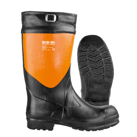 Nokian Footwear Tuurasafe - Black/orange