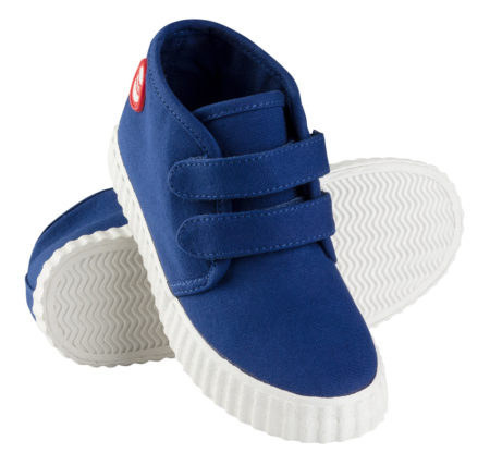 Nokian Footwear Hai Canvas Kids Velcro trainer - Blue