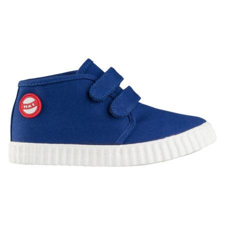 Nokian Footwear Hai Canvas Kids Velcro trainer - Blue 2