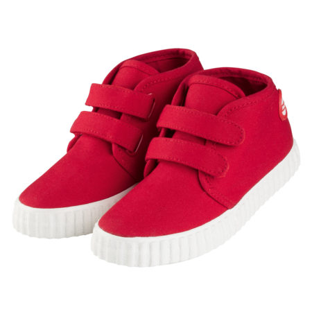 Nokian Footwear Hai Canvas Kids Velcro trainer - Red