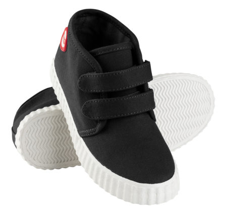 Nokian Footwear Hai Canvas Kids Velcro trainer - Black 2