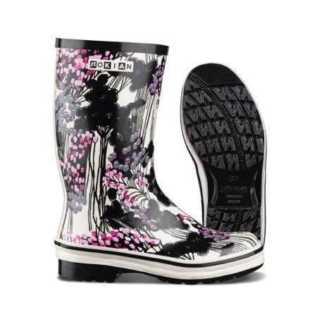Nokian Footwear Nanso Kirjokerttu - Black/pink