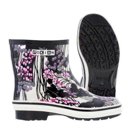 Nokian Footwear Nanso Low Kirjokerttu - Black/pink