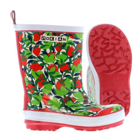 Nokian Footwear Hippa Mansikka rubber boots for children - Red