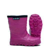 Winter Light Kids rubber boots for children